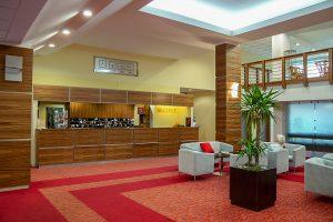 Hotel Behounek Rezeption