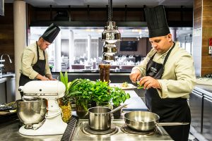 Hotel Aquarius SPA Küche