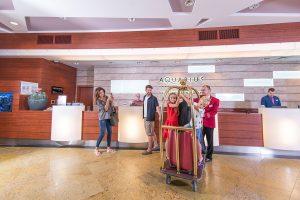 Hotel Aquarius SPA Rezeption