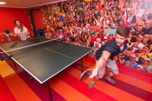 Hotel Aquarius SPA Tischtennis
