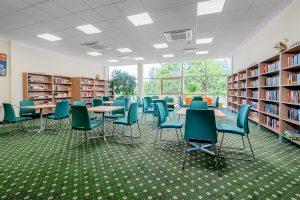 Sanatorium Egle Birstonas Bibliothek