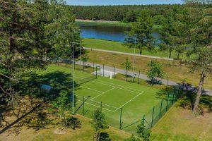 Sanatorium Egle Birstonas Tennisplatz