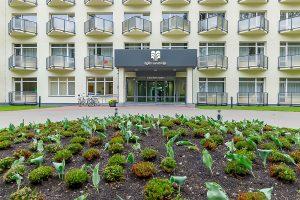 Sanatorium Egle Comfort Eingang