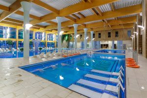 Sanatorium Egle Birstonas Schwimmbad