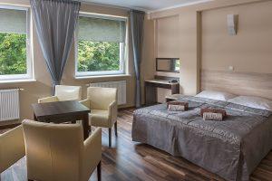 Doppelzimmer Kurhaus Muszelka