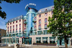 Kurhotel Cristal Palace Außenansicht