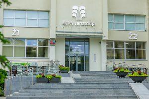 Sanatorium Egle Economy Eingang