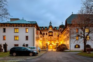 Chateau Monty SPA Resort Gebäude