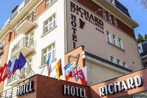 SPA und Wellness Hotel Richard Gebäude