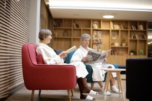 Rehabilitationszentrum UPA Medical SPA Leseecke