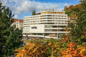 Kurkomplex Curie Gebäude