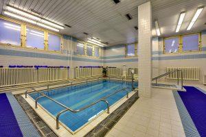 Kurkomplex Curie Schwimmbecken