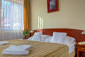 Kurhotel Ewa Medical & SPA Apartment Bett