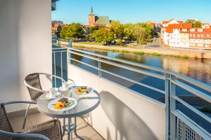 Hotel Nad Parseta Balkon mit Aussicht