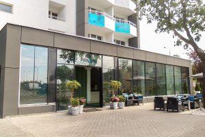 Hotel Nad Parseta Eingang