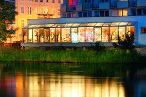 Hotel Nad Parseta Wintergarten