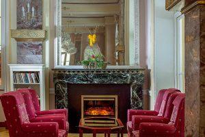 Hotel Radium Palace Kamin