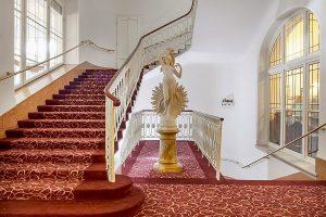 Hotel Radium Palace Treppen
