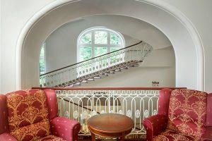 Hotel Radium Palace Treppenhaus