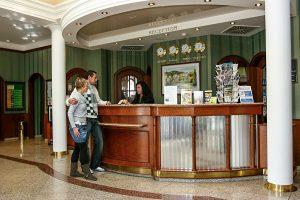 SPA Hotel San Remo Rezeption