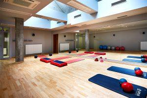 Sand Hotel Gymnastik Raum