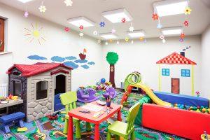 Sand Hotel Kinderzimmer