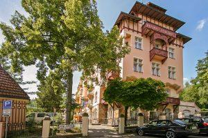 SPA Hotel Smetana Vysehrad Jugendstilgebäude