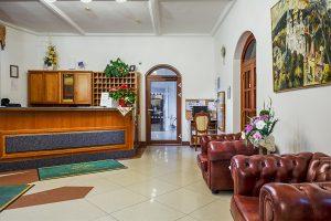 SPA Hotel Smetana Vysehrad Rezeption
