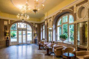 Falkensteiner Hotel Grand MedSpa Eingangshalle