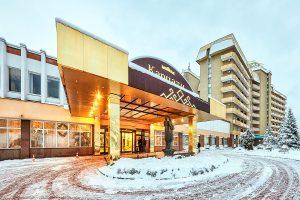 Hotel- und Ferienkomplex Karpaty Eingang