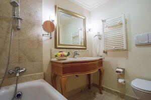 Resort Rixos Prykarpattya Badezimmer