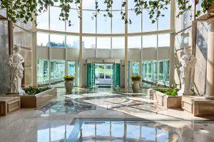Resort Rixos Prykarpattya Eingangshalle