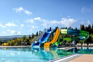 Resort Rixos Prykarpattya Freibad
