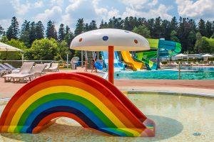 Resort Rixos Prykarpattya Kinderbecken