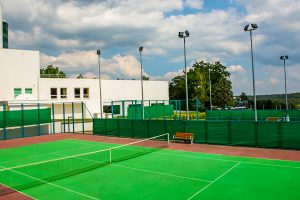 Resort Rixos Prykarpattya Tennisplatz