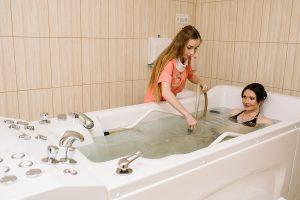 Resort- und Hotelkomplex Svityaz Unterwassermassage