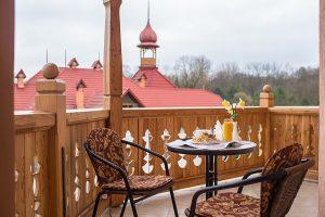 Resort- und Hotelkomplex Svityaz Balkon & Aussicht