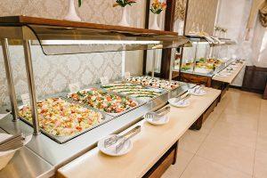 Resort- und Hotelkomplex Svityaz Buffet Salat