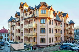 Resort- und Hotelkomplex Svityaz Gebäude