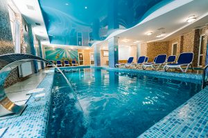 Resort- und Hotelkomplex Svityaz Schwimmbad 1