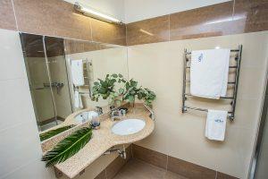 SPA- und Kurhotel Amber Palace Badezimmer