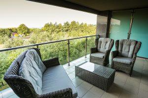 SPA- und Kurhotel Amber Palace Balkon mit Aussicht