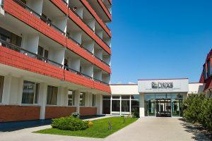 Sanatorium Palangos Linas Eingang