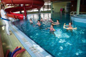 Sanatorium Tulpe Wassergymnastik